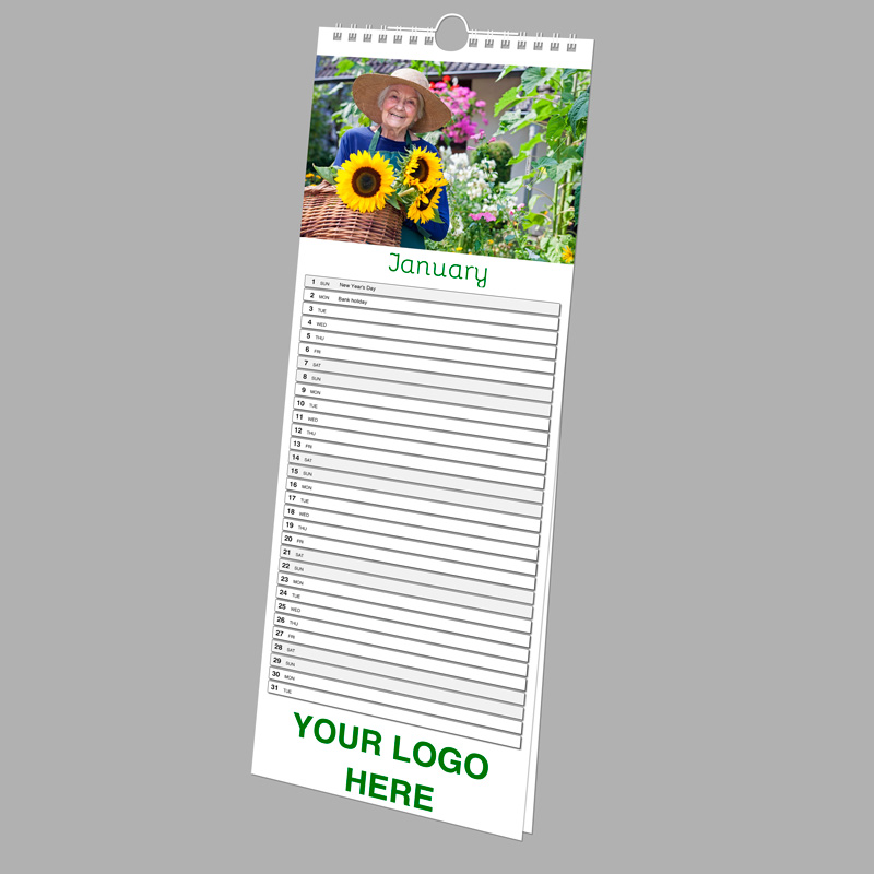 Picture of Slim Wall N.E. - 7 Leaf (double sided) SPONSOR with printed backing board