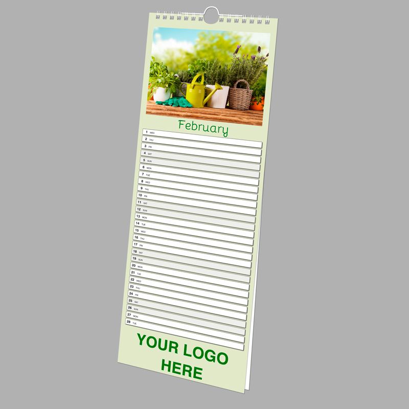 Picture of Slim Wall N.E. - 13 Leaf SPONSOR with printed backing board