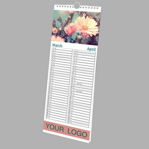 Picture of Slim Wall N.E. - 7 Leaf (single sided) SPONSOR with printed backing board